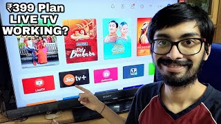 JioFiber ₹399 Plan Does LIVE TV work with JioTV+ & Set top box review | New truly UNLIMITED Plans