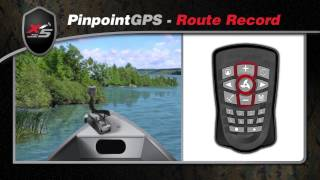Motorguide Pinpoint GPS Route Record