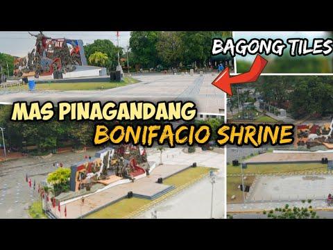 Bagong bihis na Bonifacio Shrine | Manila Update