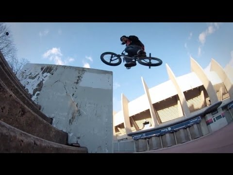 BMX Street - Brad Simms In Paris 2014