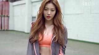 유라 Yura 아디다스 러닝 그라치아 adidas & GRAZIA KOREA March 2015 Girl's Day 150305 걸스데이
