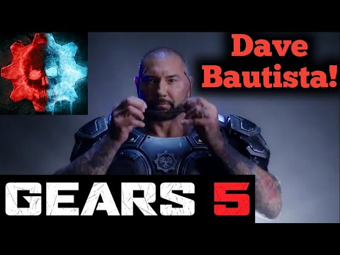 Dave Bautista Is In Gears 5!!! 😀💥🔥💥🔥😀👍🏽