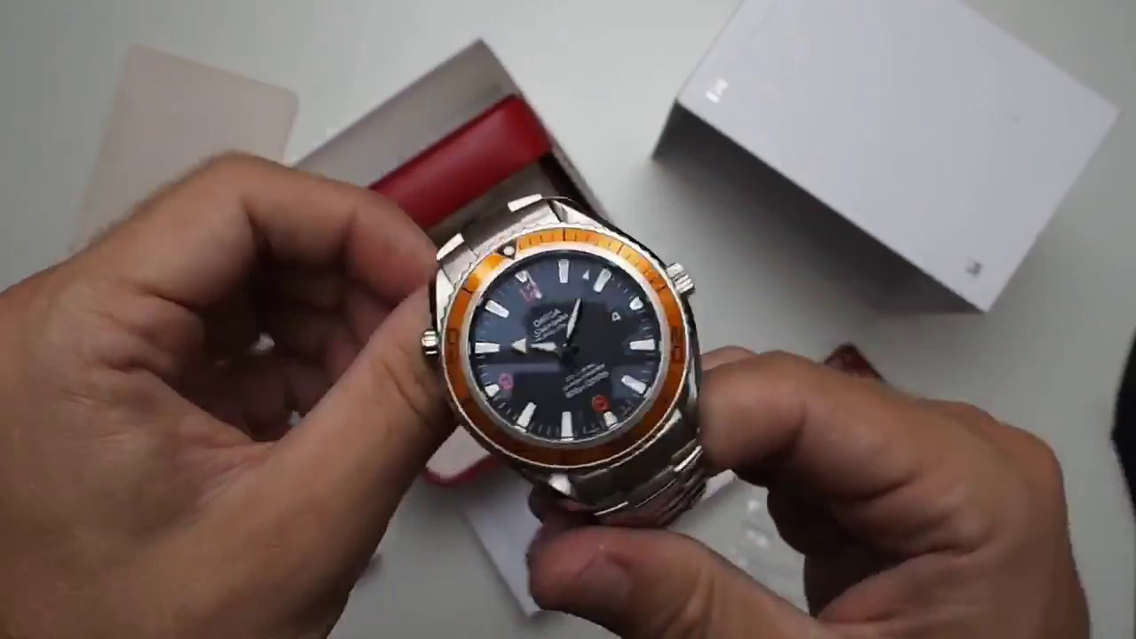 omega seamaster planet ocean 2500 co axial what s in the box