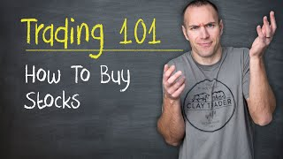 Trading 101: How t๐ Buy Stocks
