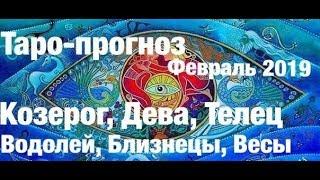 Таро-прогноз февраль 2019 Козерог, Телец, Дева, Водолей, Близнецы, Весы