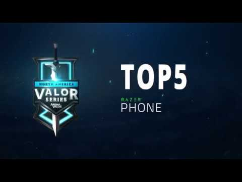 Top 5 Overall Plays for the Playoffs! | Valor Series [NA] - Arena of Valor