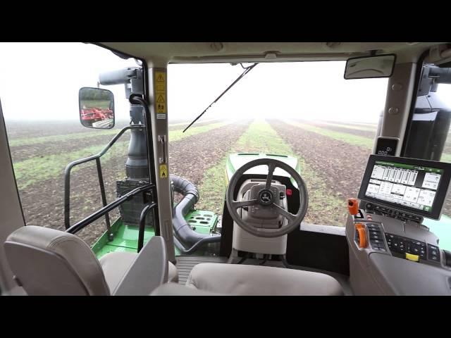 Tracteur John Deere Série 9RX – La cabine
