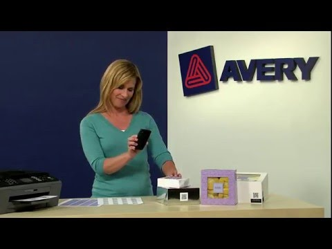 Brand Your Business with Avery® Square Labels