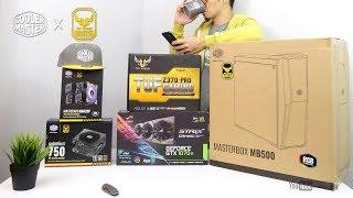 VLOG: Unboxing My Next Gaming PC build I Cooler Master x Asus TUF Gaming [Ph]