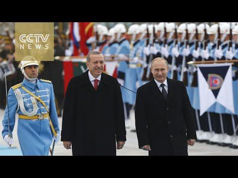 Putin's visit to Turkey focus on energy & trade