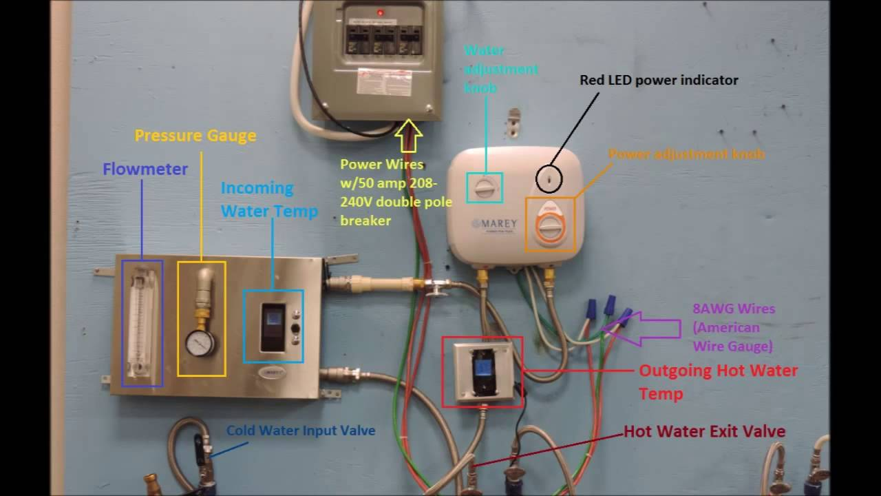 marey powerpak 110v and 220v install, troubleshooting with settings \u0026 adjustments single element 120 volt water heater wiring how to install a 240 volt circuit breaker