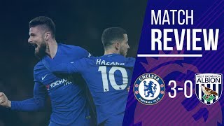 Chelsea vs West Brom 3-0 Match Review || The Eden Hazard Show || Match Analysis