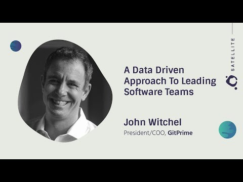 A Data Driven Approach to Leading Software Teams - GitHub Satellite 2017