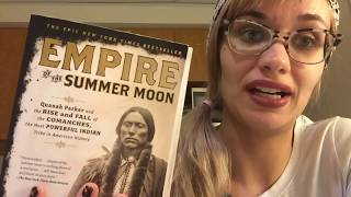 """empire of the summer moon Empire of the summer moon: quanah parker and the rise and fall of the comanches, the most powerful indian tribe in american history by s c gwynne towards the end of sc gwynne's mesmerizing empire of the summer moon, quanah parker explains to a friend named miller how """"the white man had pushed."""