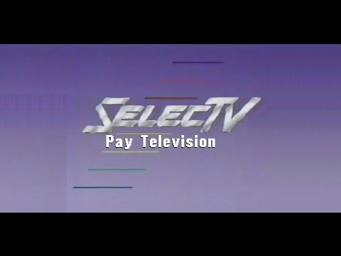 SelecTV Pay Television (1986): Various Stuff