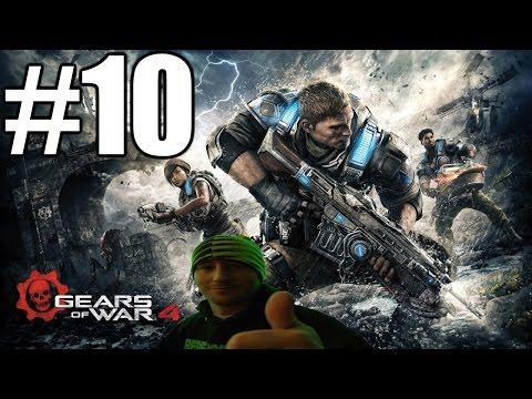 Gears of War 4 Gameplay Playthrough #10 - Night Terrors (PC)