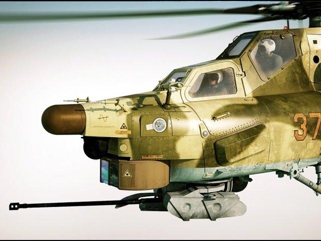 Обзор модели Ми-28А Звезда