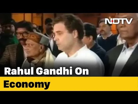 'Challenge PM To Tell Students Why Economy A Basket Case': Rahul Gandhi