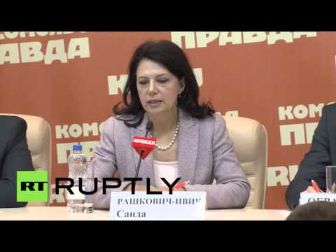 Russia: 'Crimea is Russia and Kosovo is Serbia' - Serb politician Raskovic Ivic