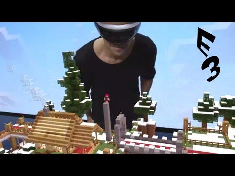 2015 E3 - Full Microsoft Reveal (Valve Partnership & Minecraft on the Hololens) HQ