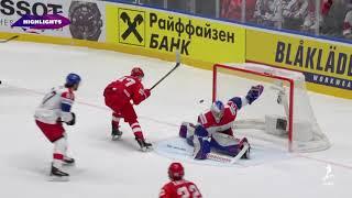 Andrei Vasilevskiy, Team Russia shut out Team Czech Republic, 3-0 - IIHF World Championship