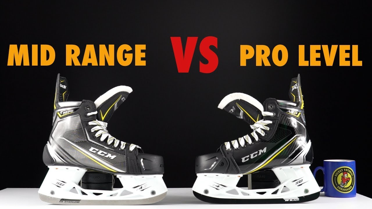 Mid Range Vs Top Pro Level Hockey Skates Comparison What Is The