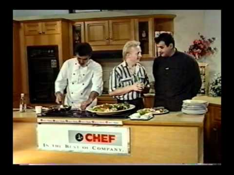 The Magic Pan cooking show (5 minutes) Channel 7 - 1990