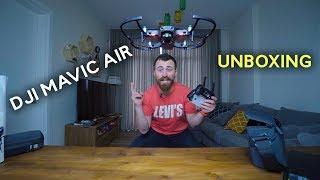DJI mavic Air განხილვა – ახალი დრონის გახსნა და გატესტვა გიორგი დანელიასგან