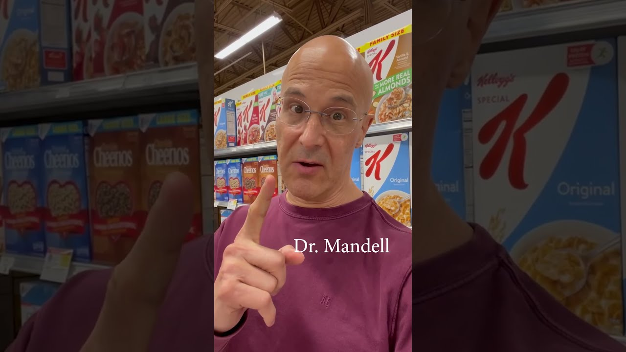Cheerios...American Heart Association Really Endorses This?  Dr. Mandell
