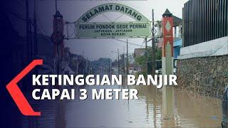 Alat Evakuasi Minim, Warga Inisiatif Bawa Perahu Karet Jemput Korban Banjir
