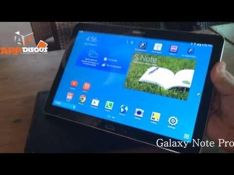 พรีวิว พาชม: Samsung Galaxy Note Pro