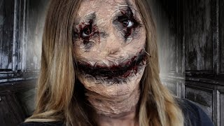 Maquillage Halloween - Poupée vaudou / Voodoo Doll