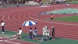 大阪ユース選手権 女子1年1500m予選3組 2015.08.14 於:ヤンマーフィー...