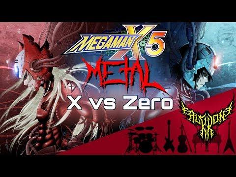 Megaman X5 - X vs Zero 【Intense Symphonic Metal Cover】