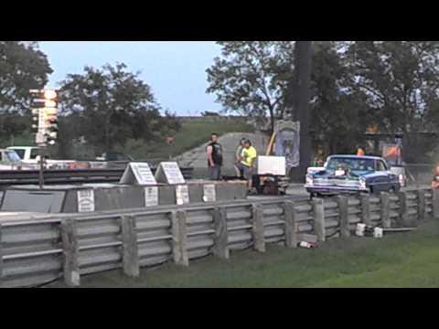 1966 Chevy Nova Drag Race