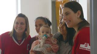 The Game is a Gift | Hilary Knight & Marie-Philip Poulin