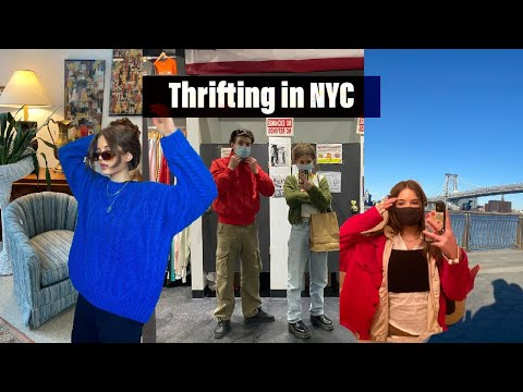 Thrifting in NYC: Spring Haul, Hanging with Friends in Nyc
