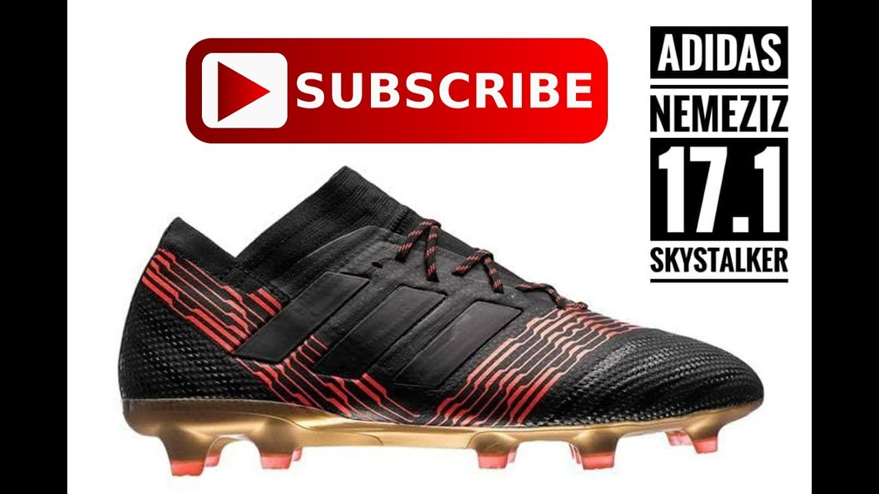 ac75d7e0e Review adidas Nemeziz 17.1 FG Skystalker (Thai Version) - YouTube
