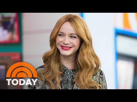Christina Hendricks Talks 'Fist Fight,' Acting With Ice Cube | TODAY