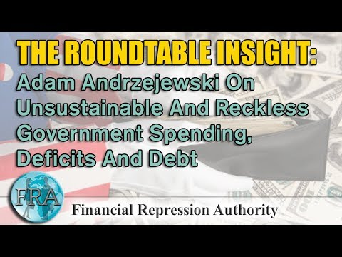 Adam Andrzejewski On Unsustainable And Reckless Government Spending, Deficits And Debt