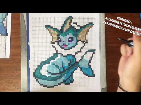 Tuto I Comment Dessiner Aquali How To Draw Vaporeon