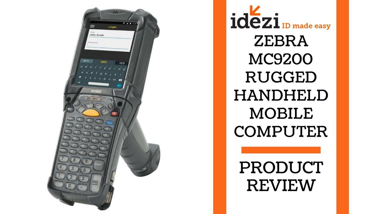 Zebra Mc9200 Rugged Handheld Mobile Computer Idezi Id Made Easy