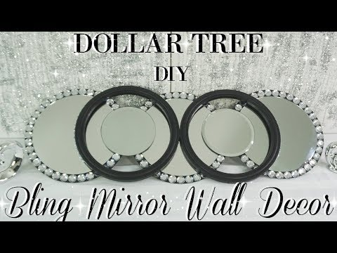 DIY DOLLAR TREE MIRROR WALL DECOR | DIY MIRROR | DIY HOME DECOR | DIY ROOM DECOR