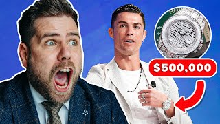 Watch Expert Reacts To Ronaldo's $10,000,000 Collection