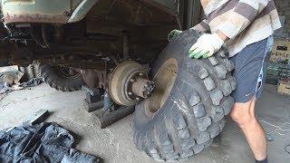 Ремонт тормозов Газ 66 после хранения в воинской части!