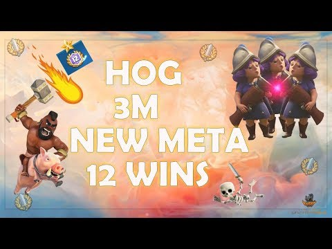 New OP Deck: 3 Musketeer Hog! Dominate the Meta! 12 Win Grand Challenge!