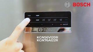 Обзор холодильников BOSCH KGN56VI20R и KGN76AI22R