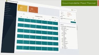 Gourmandelle Meal Planner Presentation