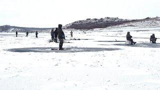 ПЕРВЫЙ ЛЕД 2021 2022 Рыбалка на севере на реке Анабар