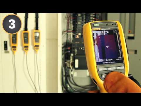 Fluke Thermal Imager goes Wireless - CNX Serires @ www.primoinc.com